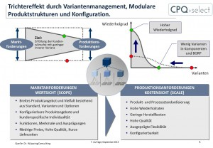 Variantenmanagement, Komplexitätsmanagement