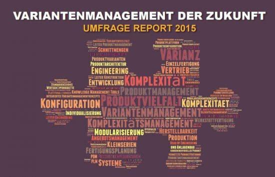 Variantenmanagement der Zukunft – Umfragereport 2015
